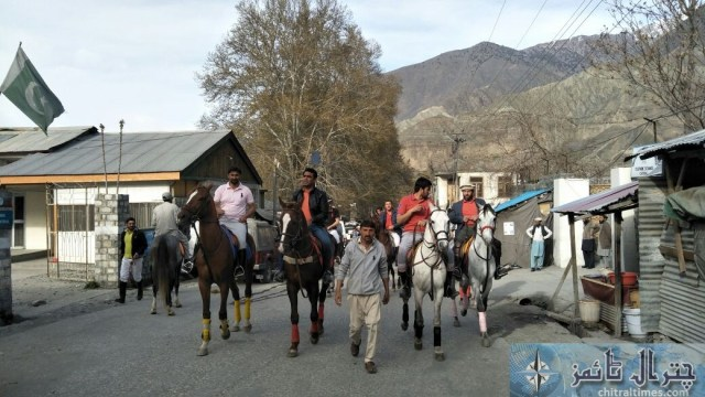 Chitral spring polo innuagurated by Dc irshad sodher