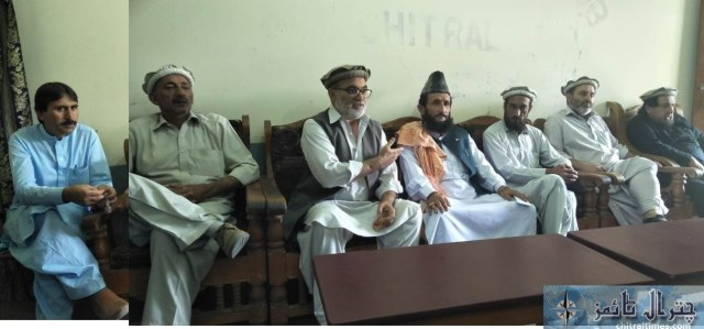 press confrence against lowari tunnel timing 33