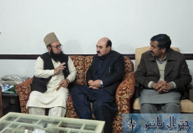 Molana chitrali and fida khan fida minister gb 2
