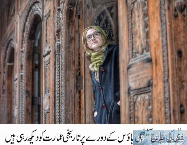 tourists visits peshawar historical places Italian toruists 3