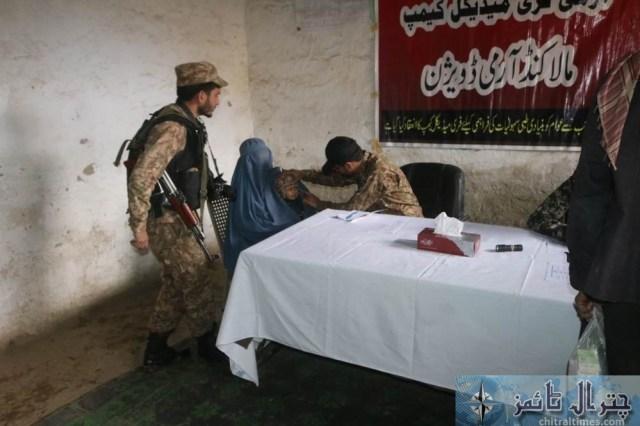 Army chitral free medical camp 10
