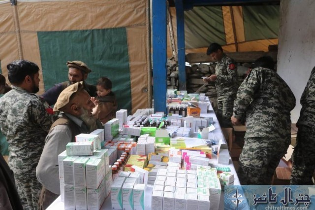 Army chitral free medical camp 12