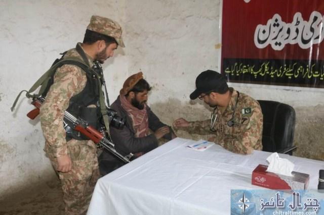 Army chitral free medical camp 3