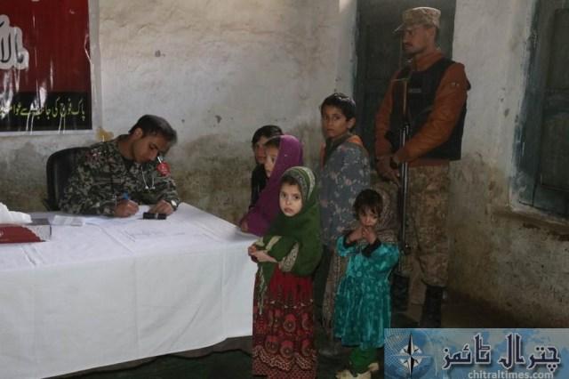 Army chitral free medical camp 4