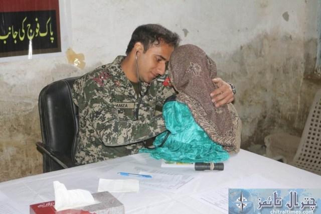 Army chitral free medical camp 7