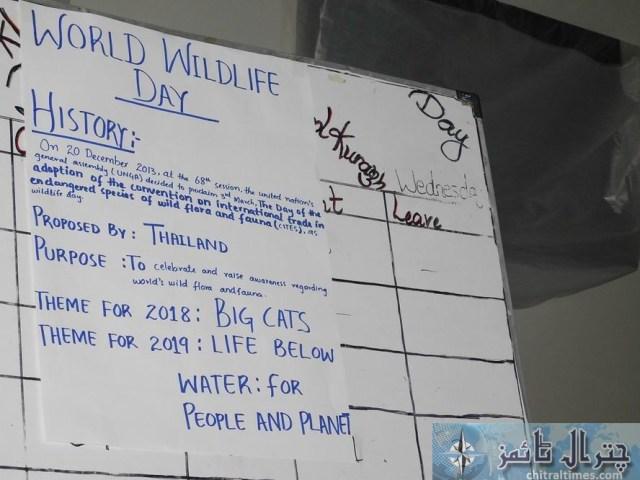 world wildlife day akhss kuragh 2