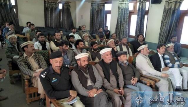 SDP Pesco Chitral press forum 1