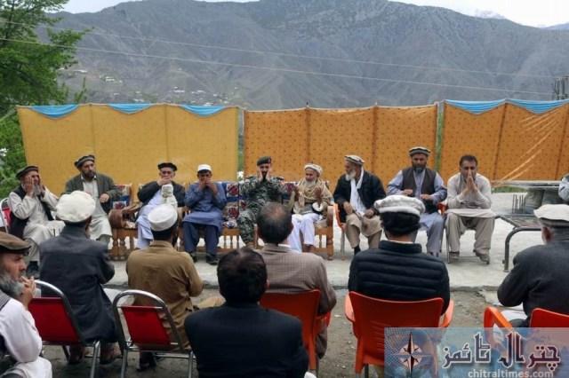 cs and army official visit danain damage house 2