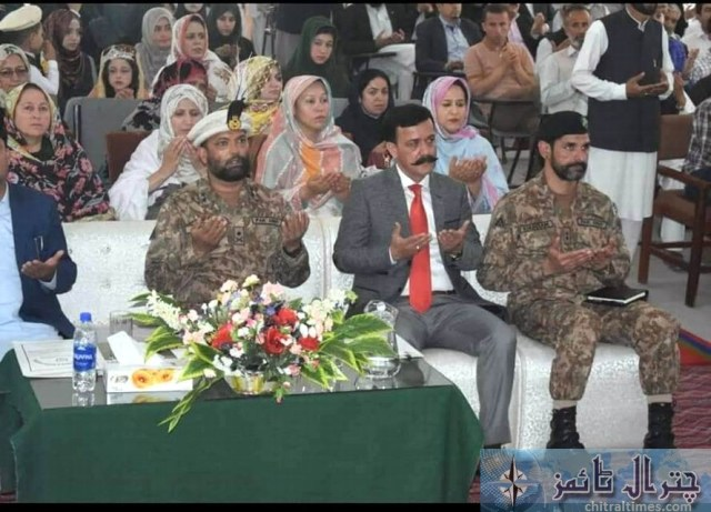 gilgit force commanders salute to professor 1