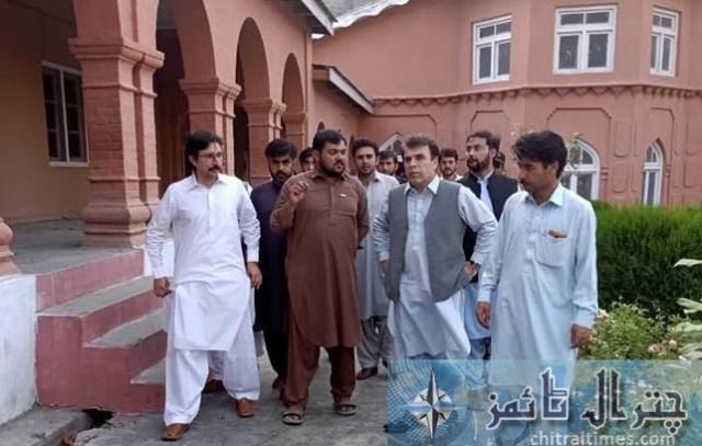 commissioner malakand visit Osama shaheed academy chitral 14