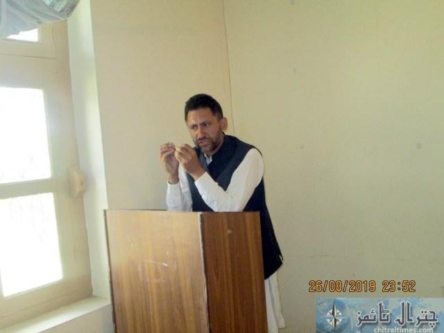 Tehsil council Mastuj last meeting 2