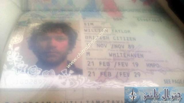 British koh pama stuck in chitral trap in glacier 5