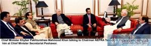 CM Photo Meeting with Chairman NEPRA