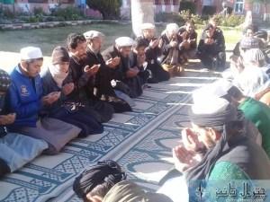 dc chitral and dpo yadgar shuhada e pk661 pr haziri and salami Quran khawni6