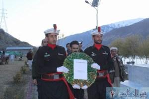 dc chitral and dpo yadgar shuhada e pk661 pr haziri and salami
