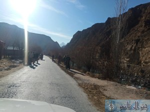 ismaili volunteers upper Chitral road repaired2