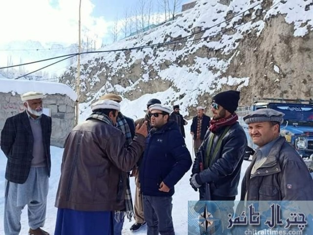 upper chitral snow fall and road clearence 6