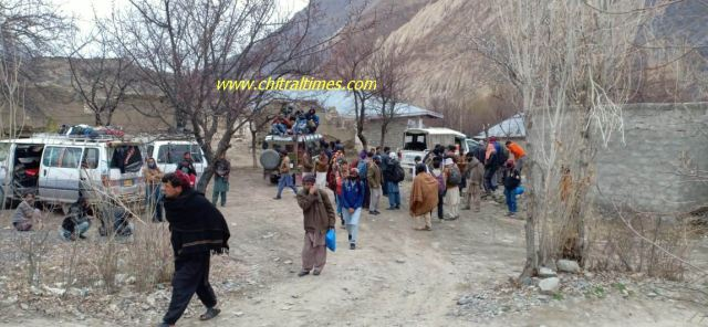 mastuj passengers reached upper chitral during lockdown5