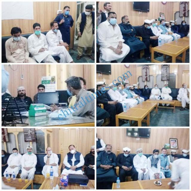 ahmad khan niazi visit to chitral 1 1