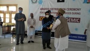 mna chitrali distributes awards among covid19 front line persons scaled