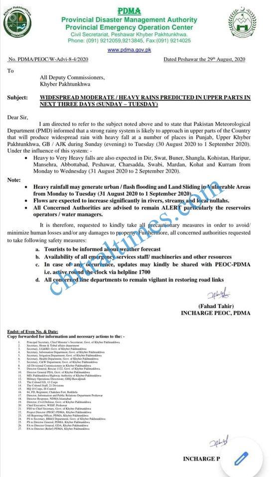pdma notice