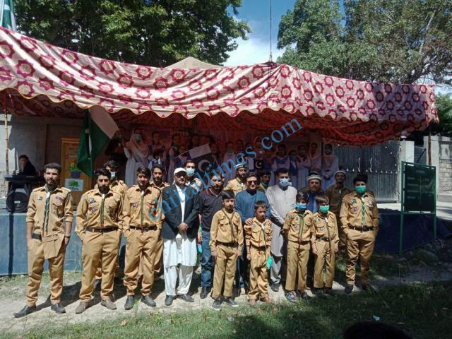 ismaili volunteers defence day upper chitral