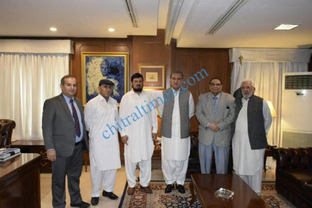 pcci coordinator sartaj ahmad meet foreign minister
