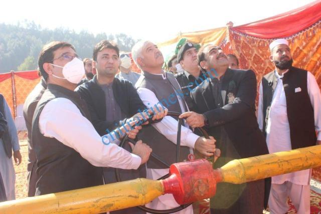 CM visit to swat mahmood khan and murad saeed