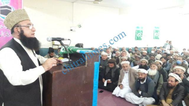 Jamat islami amir chitral oath taking 1