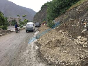 chitral airport road