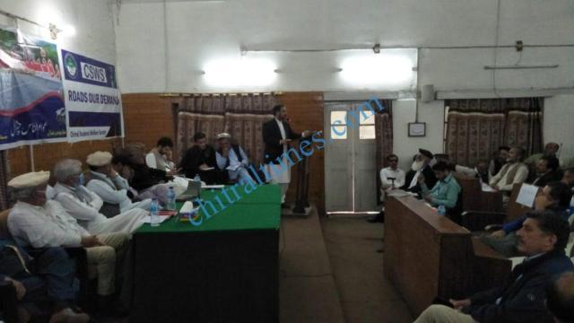 chitral development forum meeting niazi