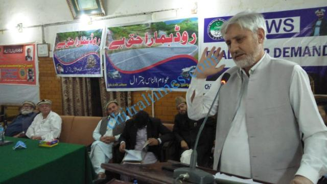 chitral development forum meeting prof mumtaz hussain2