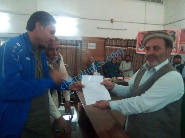 chitral development forum meeting1