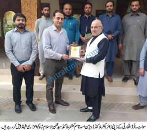 halal food authority kp with commissioner malakand