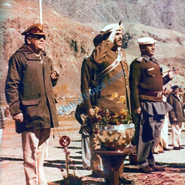 President of Pakistan Gen. Zia Shandur-Chitral visit-1986-pic Comd-Col.Murad fb