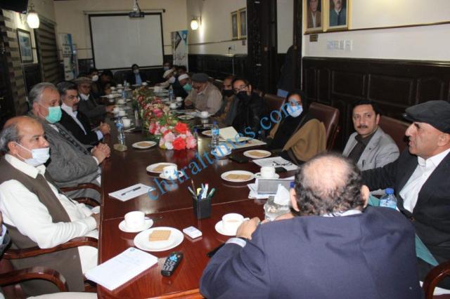 fpcci meeting peshawar