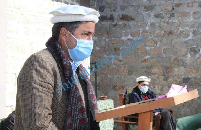 akah water project inaugurated chitral 3