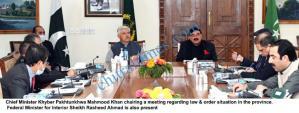 cm kp and federal minister interior shaikh rashid scaled