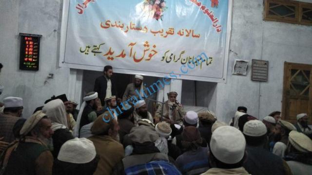madrasa muhammadia danin chitral dastar bandi program Abdur rashid