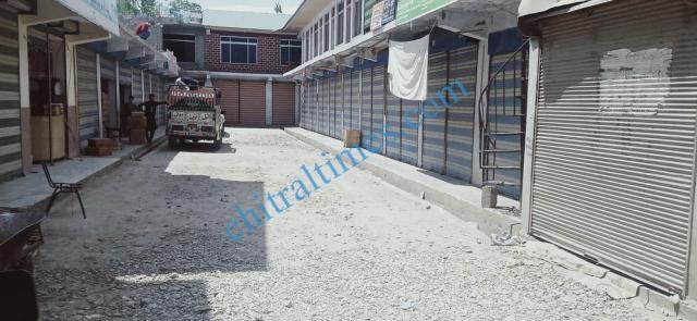 Booni bazar lock down upper chitral 4
