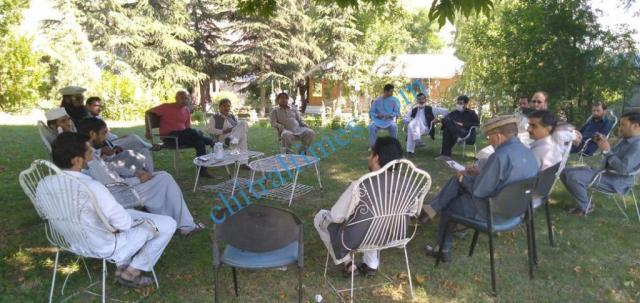 chmaber of commerce chitral meeting with kpzc3