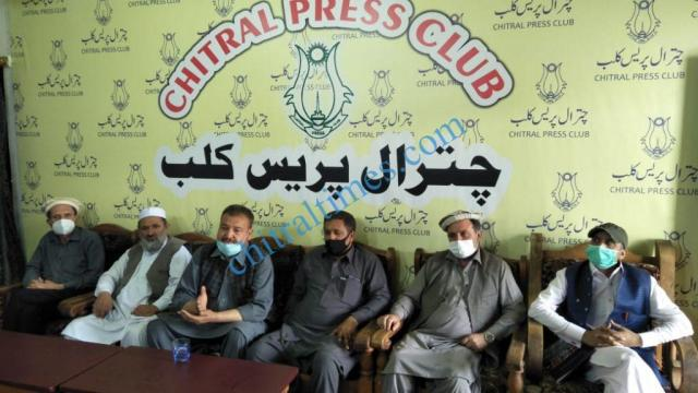 hotel association chitral press confrence1