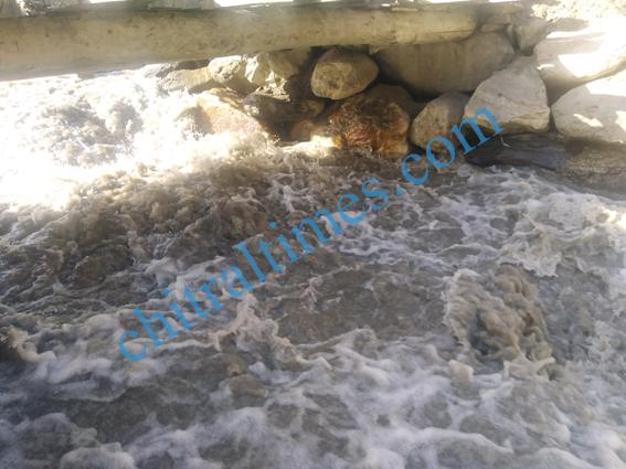 chitraltimes garamchashma bridges damages 2
