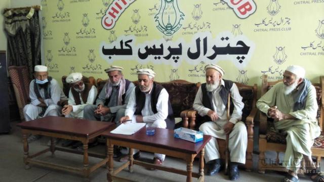 chitraltimes chew dok press confrence against khurshid health1