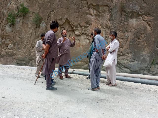 chitraltimes golen flood administraion visit
