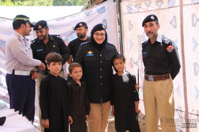 chitraltimes shuhada police chitral program1