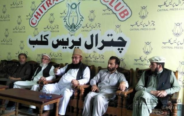 chitraltimes molana chitrali addressing press confrence2