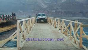 SRSP constructs bridge to Didargah in Booni