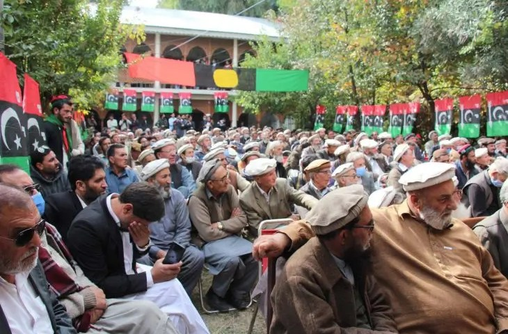 PPP workers convention in Chitral