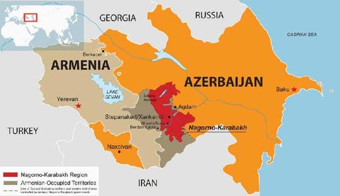 Eruption of conflict over Nagorno-Karabakh